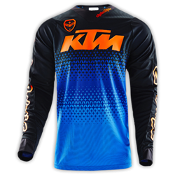 Bild von SE JERSEY STARBURST KTM BLUE/ORANGE XL