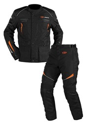 Bild von Jopa Omega V2 suits (Jack+Pants) Black-Orange