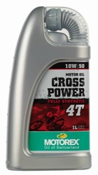 Bild von MOTOREX 4T Cross Power SAE 10W/50 1lt
